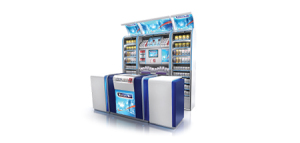 Illustration of  InShopBranding-T_SIS_Gantries_Counters
