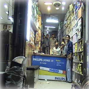 InShopMerchandising-Philips shop branding